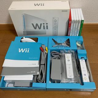 ニンテンドウ(任天堂)の Wii 本体+ソフトまとめてセット(家庭用ゲーム機本体)