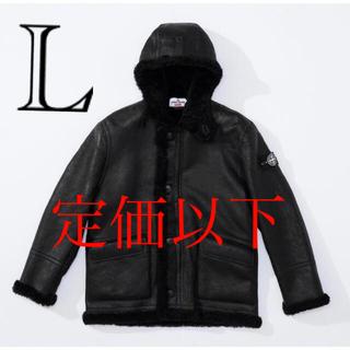 シュプリーム(Supreme)のSupreme Stone Island Jacket  black(ナイロンジャケット)