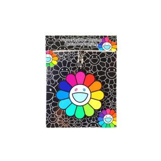 Flower Rubber Keyring Rainbow&White 村上隆(その他)