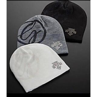デサント(DESCENTE)のDESCENTE  デサント   クリスタルコレクション ニット帽(ウエア)