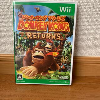 ニンテンドウ(任天堂)のドンキーコング リターンズ Wii(家庭用ゲームソフト)