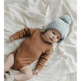 キャラメルベビー&チャイルド(Caramel baby&child )のjamiekay ニット帽 0-2y(帽子)