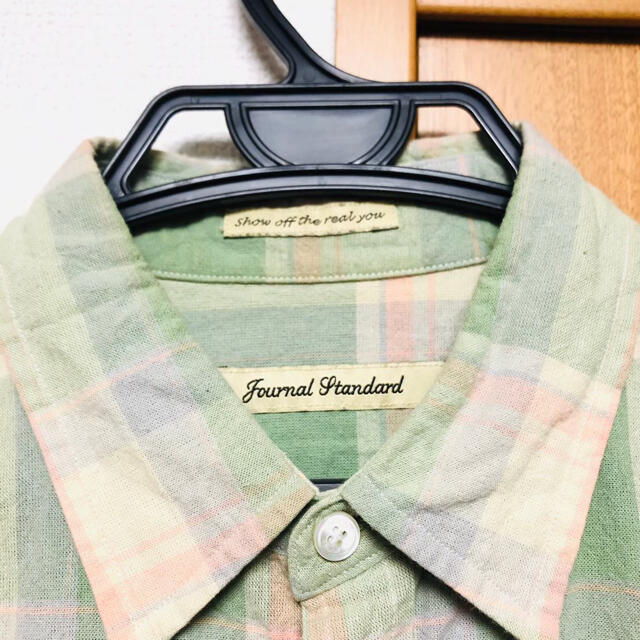 JOURNAL STANDARD(ジャーナルスタンダード)の【大幅値下】journal standard チェックシャツ 上質生地 おしゃれ レディースのトップス(シャツ/ブラウス(長袖/七分))の商品写真