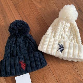 ポロラルフローレン(POLO RALPH LAUREN)のpolo 刺繍 ニット帽 2点セット(ニット帽/ビーニー)