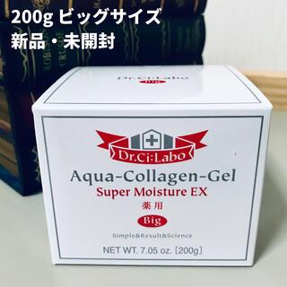 ドクターシーラボ(Dr.Ci Labo)の【新品・未使用】薬用アクアコラーゲンゲルスーパーモイスチャーEX 200g(オールインワン化粧品)