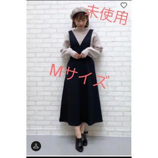 GU - 未使用 GU ジャンパースカート Mサイズ