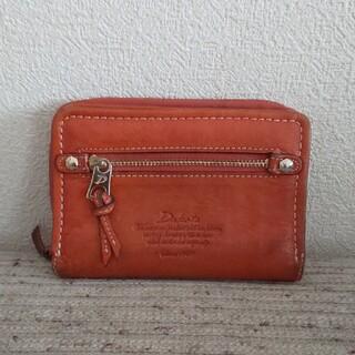 ダコタ(Dakota)のDakota  折りたたみ財布 オレンジ  モデルノ(財布)