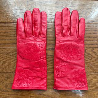 コーチ(COACH)の百貨店で購入 フェイクレザーの手袋(手袋)