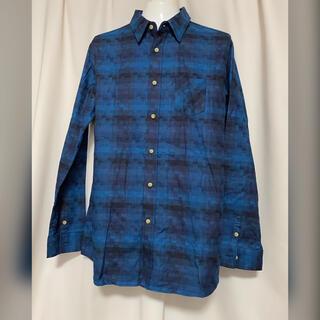 glamb - glamb グラム  チェックシャツ 4 青 XL ブルー