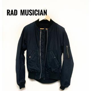 LAD MUSICIAN - LAD MUSICIAN MA-1 ブルゾン ブラック 44