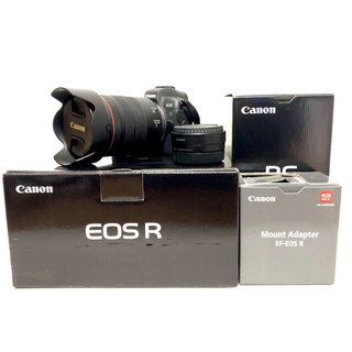 Canon - EOS R RF 24-105mmF4 L IS USMセット