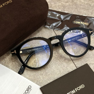TOM FORD - TOMFORD 黒縁メガネ 伊達眼鏡 トムフォード ブラック 黒 ユニセックス