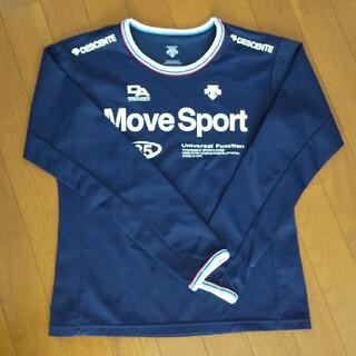 DESCENTE - デサント move sport レディース ドライ ロングシャツ Lサイズ