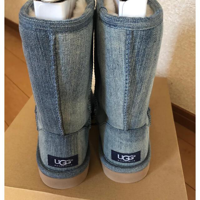 UGG(アグ)のUGG デニムブーツ 屋外未使用 メンズの靴/シューズ(ブーツ)の商品写真