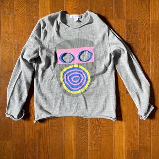 コムデギャルソン(COMME des GARCONS)のCOMME des GARCONS shirts19SS マスクニット グレー(ニット/セーター)
