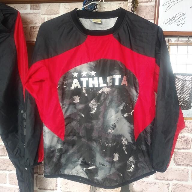 ATHLETA(アスレタ)のATHLETAピステ上下160 スポーツ/アウトドアのサッカー/フットサル(ウェア)の商品写真