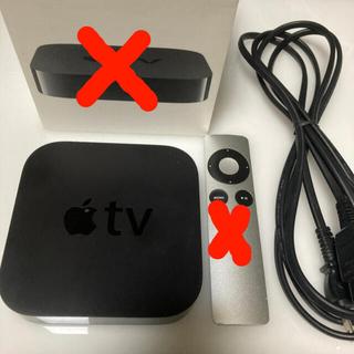 Apple - Apple TV アップルテレビ 第3世代 動作良好 最新OS 本体、ケーブル