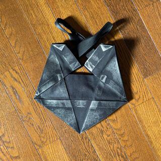 イッセイミヤケ(ISSEY MIYAKE)のISSEY MIYAKE イッセイミヤケ 変型キャンバスハンドバッグ(ハンドバッグ)