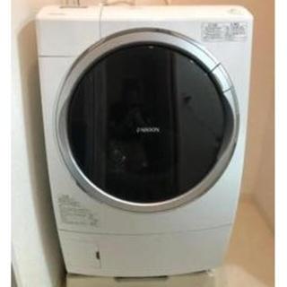 東芝 - ドラム式洗濯機 乾燥機 ZABOON 東芝 タッチパネル ホワイト 大容量