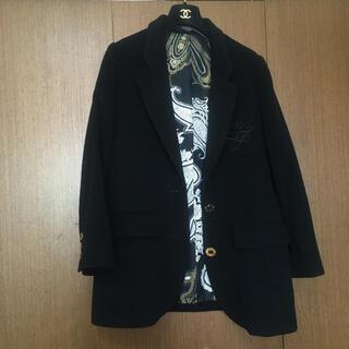 LEONARD - レオナール 暖かいカシミヤ入りソフトジャケットコートブラック美品❣️