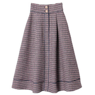 eimy istoire - ツイードスカート ロングスカート