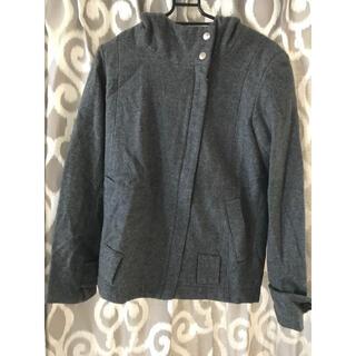 ダブルスタンダードクロージング(DOUBLE STANDARD CLOTHING)のダブスタ ★フード付きショート丈ウールコート(その他)