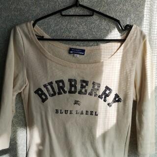 バーバリーブルーレーベル(BURBERRY BLUE LABEL)のBURBERRY  BLUE  LABEL トレーナー(トレーナー/スウェット)