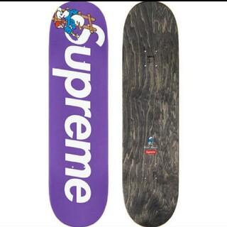 シュプリーム(Supreme)のSupreme Smurfs Skateboard Purple(スケートボード)