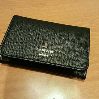 ランバンオンブルー(LANVIN en Bleu)のLANVINカードケース(名刺入れ/定期入れ)