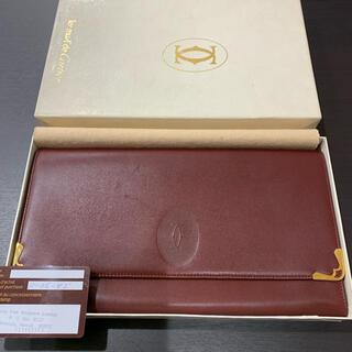 カルティエ(Cartier)の未使用 希少  カルティエ マストライン マルチ クラッチバッグ ギャランティ(クラッチバッグ)