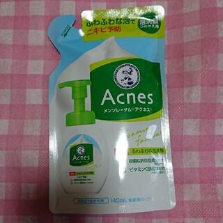 ロートセイヤク(ロート製薬)のメンソレータム アクネス 薬用ふわふわな泡洗顔 つめかえ用(140ml)(洗顔料)