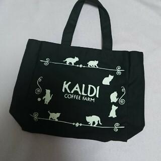 カルディ(KALDI)のカルディ  猫  バック(エコバッグ)