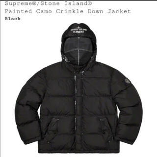 シュプリーム(Supreme)のSupreme Stone Island Down Jacket Black(ダウンジャケット)