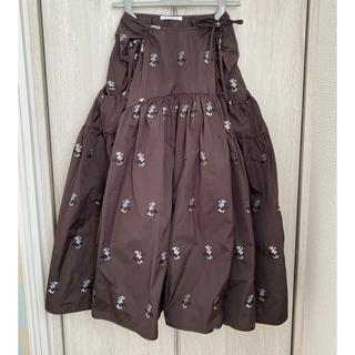 ドゥロワー(Drawer)のCecilie Bahnsen Drawer Lilyスカート  サイズ6(ロングスカート)