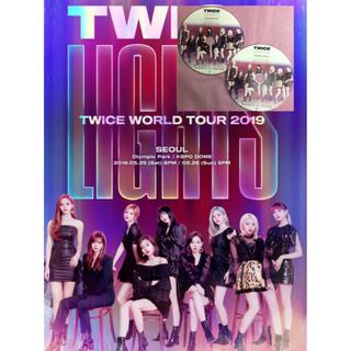 ウェストトゥワイス(Waste(twice))のTWICE WORLDツアーLIGHTS 2019 ライブDVD  チャプター有(ミュージック)