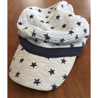 ホットビスケッツ(HOT BISCUITS)のお値下げ中 ミキハウス ホットビスケッツ 帽子 男の子 M グレー(帽子)