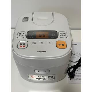 アイリスオーヤマ(アイリスオーヤマ)の炊飯器 5.5合 説明書付き(炊飯器)