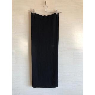 トゥモローランド(TOMORROWLAND)のtomorrow rand  リブニットスカート(ロングスカート)