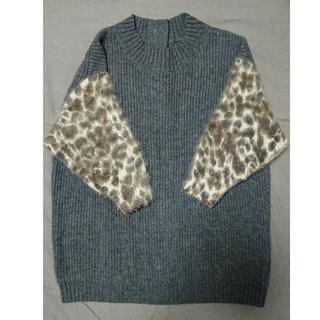 ビアズリー(BEARDSLEY)のビアズリー 袖が7分丈のセーター(ニット/セーター)