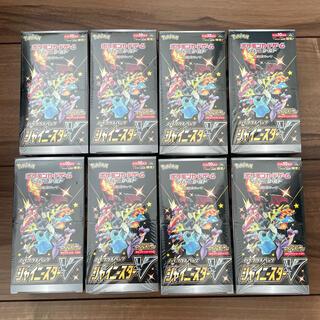 ポケモン(ポケモン)の新品 ポケモンカード シャイニースターV 8BOX(Box/デッキ/パック)