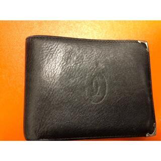 カルティエ(Cartier)のCartier カルティエ 財布 二つ折り マストシリーズ(折り財布)