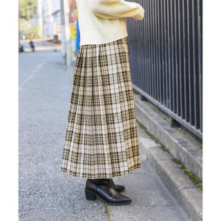 LOWRYS FARM - LOWRYSFARM タータンチェックプリーツスカート