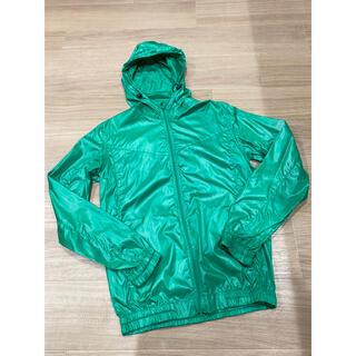 グラニフ(Design Tshirts Store graniph)のグラニフ graniph ナイロンジャケット M 緑 グリーン(ナイロンジャケット)