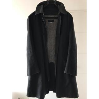 トゥモローランド(TOMORROWLAND)のトゥモローランド メンズ コート Mサイズ ブラック 46(ステンカラーコート)