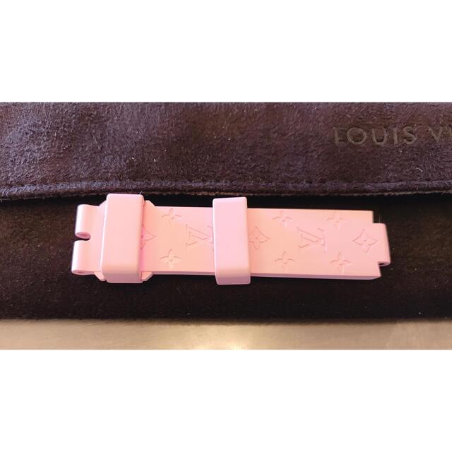 LOUIS VUITTON(ルイヴィトン)のルイヴィトン 時計ベルト 美品 レディースのファッション小物(腕時計)の商品写真
