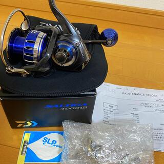 ダイワ(DAIWA)の15 ソルティガ4000H SLP worksノーマルギア比に変更(リール)