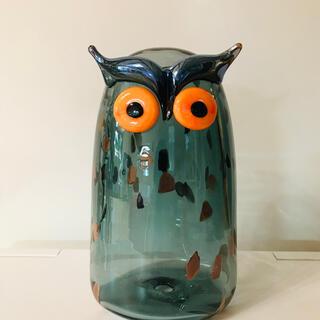 イッタラ(iittala)のLong-eared Owl トラフズク イッタラ  バード フクロウ(置物)
