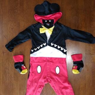 ベビードール(BABYDOLL)のBABYDOLL&Disney ミッキーロンパース80&靴下(ロンパース)