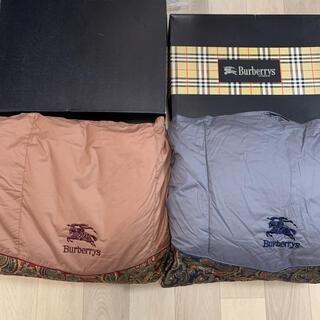 BURBERRY - 未使用 バーバリー 羽毛布団 掛け布団 ダウン 2枚セット