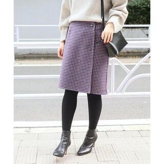 イエナ(IENA)の新品 IENA イエナ Wフェイス リバーシブル スカート 38 ラップスカート(ミニスカート)
